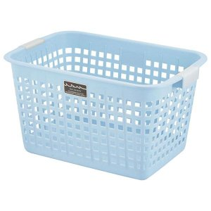 まとめ ニューキングバスケット 収納かご 35%OFF 定価の67%OFF 〔ブルー〕 持ち手付き 洗濯かご 〔16個セット〕 おもちゃ収納 クローゼット収納