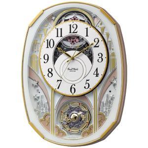 <title>スモール ワールド メーカー公式 電波からくり掛時計 4MN551RH03</title>