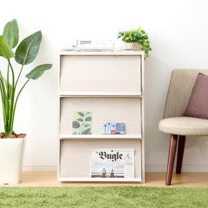 ディスプレイラック 木製 本棚 オープン キャビネット|dicedice