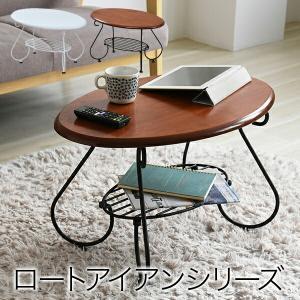 ヨーロッパ風 ロートアイアン 家具 楕円 センターテーブル|dicedice