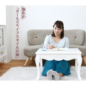 姫系家具 キャッツプリンセス ミニテーブル 幅60 高さ38|dicedice