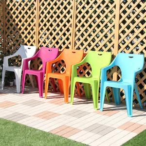 ガーデンチェア プラスチック スタッキングチェア 4脚セット|dicedice
