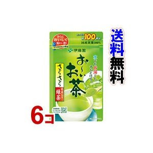 「伊藤園 お〜いお茶 さらさら抹茶入り緑茶 80g (おーいお茶)」 6個セット