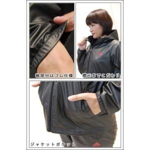 アディダス サウナスーツ レディース おしゃれ 女性用 ダイエット adidas カジュアル|dietya|05