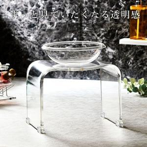 お風呂/椅子/アクリル/ホワイト/ブラック/ブラウン/グレー/単色 バスチェア & ボウル dietya 03