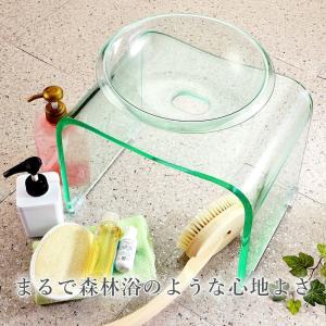 お風呂/椅子/アクリル/ホワイト/ブラック/ブラウン/グレー/単色 バスチェア & ボウル dietya 05