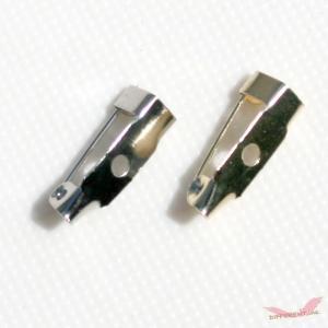 ブローチ 作成用 ブローチピン 15mm アクセサリーパーツ|different