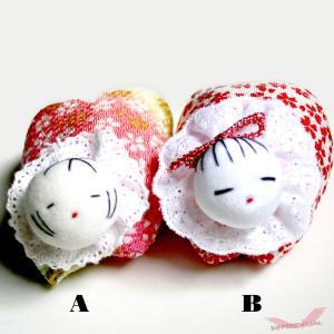 稚児クリップ つるし雛 かわいい童 桜 different