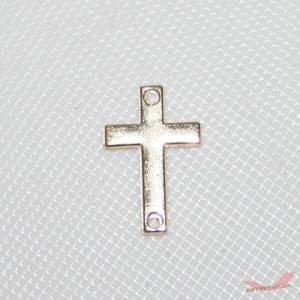 十字架 ゴールド コネクター 18mm*12mm|different