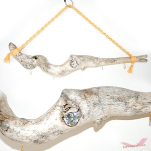 Driftwood hanger No.h 流木アート 多目的 ハンガー ロングサイズ|different