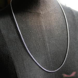 ネックレス ロロチェーン 約60cm 2.5mm幅|different