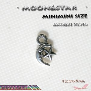 Moon&star minimini 銀古美 メルヘンチャーム アクセサリー 材料|different