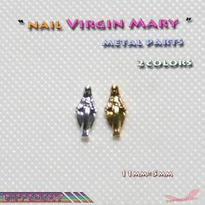 聖母マリヤ ネイル メタルパーツ different