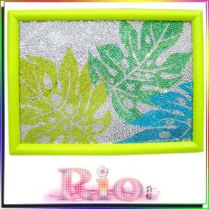 デコアート 題名 『レモンステラ』 by rio|different