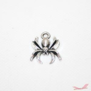 蜘蛛 チャーム ミニスパイダー 17×13mm|different