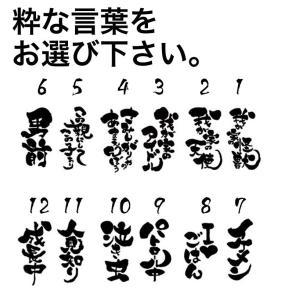 贈りもに喜ばれる 筆ゆる文字 オリジナル名入れスタイ(よだれかけ)|different