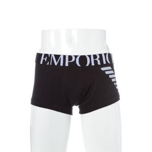 アルマーニ エンポリオアルマーニ Emporio Armani パンツアンダーウェア ボクサーパンツ メンズ 111866 CC725 ブラック A再値下