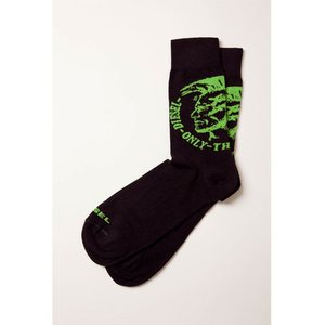 ディーゼル DIESEL ソックス 靴下 レギュラー メンズ 00CLHY 00MSQ ブラック|diffusion