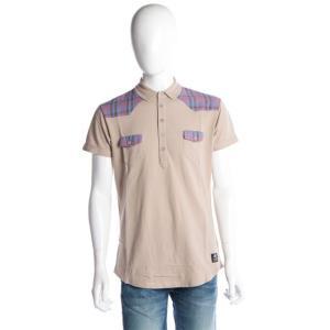 ディーゼル DIESEL 55DSL ポロシャツ 半袖 メンズ 05D03P 55A66 ベージュ|diffusion