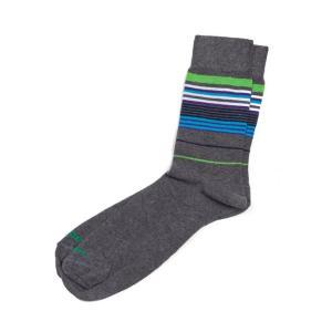 ディーゼル DIESEL ソックス 靴下 レギュラー メンズ 00CLI3 00EWP グレー|diffusion