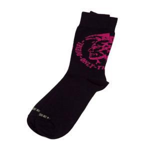 ディーゼル DIESEL ソックス 靴下 レギュラー メンズ 00CT7Q 00EWP ブラック|diffusion