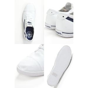 ディーゼル DIESEL スニーカー 靴 ローシューズ GOODTIME C-GOOD - sneak メンズ Y00053 PR012 ホワイト×ブルー|diffusion|03