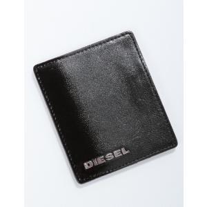 ディーゼル DIESEL カードケース CHROME SKIN JOHNAS I B02456 P0239 ブラック|diffusion