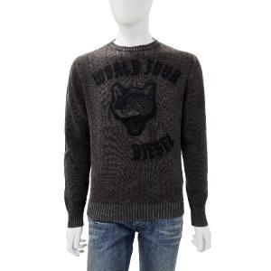 ディーゼル DIESEL セーター 長袖 丸首 メンズ  00SC0I 0SAEP ダークグレイ|diffusion