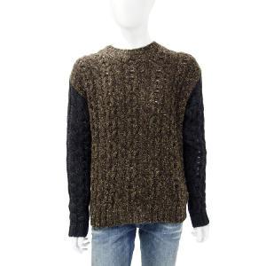 ディーゼル DIESEL セーター 長袖 丸首 メンズ  00SDVS 0DAHX ブラウン|diffusion