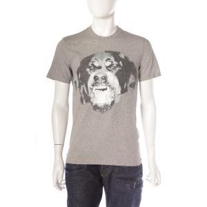 ジバンシー GIVENCHY Tシャツ 半袖 丸首 メンズ 16S 7316 651 グレー 目玉商...