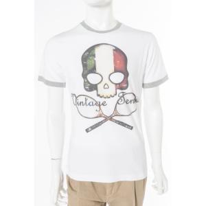 ハイドロゲン HYDROGEN Tシャツ 半袖 丸首 TENNIS メンズ FR0077 WHITE ITALY HYD値下|diffusion