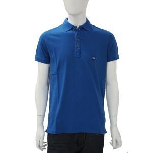 ディーゼル DIESEL ポロシャツ 半袖 T-ALEX CAMICIA メンズ 00SFPE 0JAIL ブルー|diffusion
