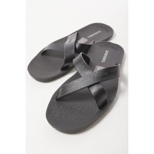 ディーゼル DIESEL サンダル スリッパ 靴 PLAJA WASH - flip-flop メンズ Y00438 PR184 ブラック|diffusion