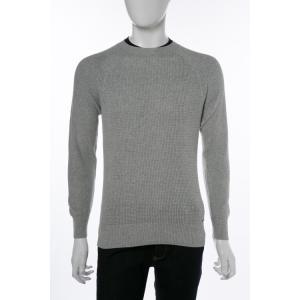 ディーゼル DIESEL セーター ニット プルオーバー 長袖 丸首 K-ALBY PULLOVER メンズ 00SMXU 0HALB グレー|diffusion