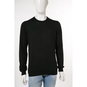 ディーゼル DIESEL セーター ニット 長袖 丸首 K-MANIKYNEW MAGLIA メンズ 00ALM2 2RWDE ブラック|diffusion