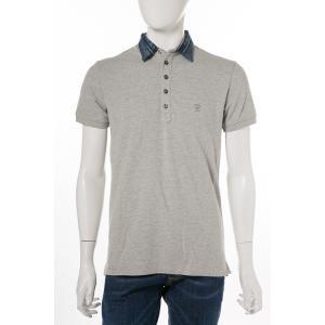 ディーゼル DIESEL ポロシャツ 半袖 T-SERPILA CAMICIA メンズ 00SRG4 0WAGQ グレー|diffusion