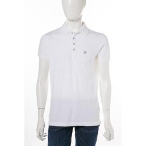 ディーゼル DIESEL ポロシャツ 半袖 T-EELS CAMICIA メンズ 00SRGG 0JAIL ホワイト|diffusion