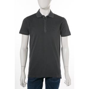 ディーゼル DIESEL ポロシャツ 半袖 T-EELS CAMICIA メンズ 00SRGG 0JAIL ネイビー|diffusion