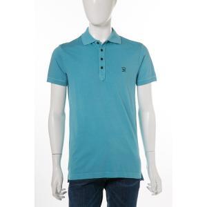 ディーゼル DIESEL ポロシャツ 半袖 T-EELS CAMICIA メンズ 00SRGG 0JAIL ライトブルー|diffusion