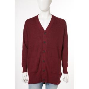 ディーゼル DIESEL セーター ニット ロングカーディガン K-CHE CARDIGAN メンズ 00SW0B 0AANZ ボルドー|diffusion