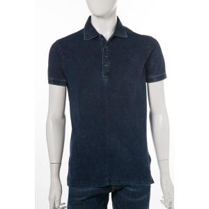 ディーゼル DIESEL ポロシャツ 半袖 T-DONK CAMICIA メンズ 00SW0P 0NAOS ネイビー|diffusion