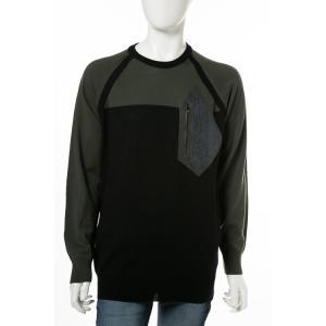 ディーゼル DIESEL セーター プルオーバー ニット 長袖 丸首 クルーネック 55-K-POOLKS PULLOVER メンズ 00S3U3 0TARB ブラック|diffusion