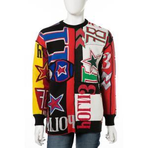 ディーゼル DIESEL セーター プルオーバー ニット 長袖 丸首 クルーネック K-OBERTO MAGLIA メンズ 00SUQL 0GAMI マルチ|diffusion