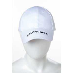 バレンシアガ BALENCIAGA キャップ ベースボールキャップ 帽子 531588 410B7 ホワイト 2018年秋冬新作|diffusion