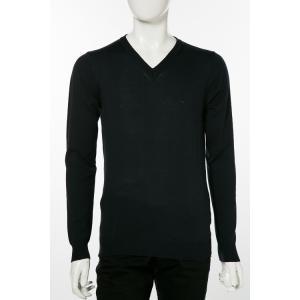 ディーゼル DIESEL セーター ニット 長袖 丸首 Vネック K-BENTINEW MAGLIA メンズ 00ALM5 2RWDE ネイビー|diffusion