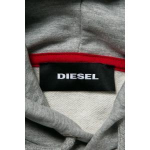 ディーゼル DIESEL トレーナー プルオーバーパーカー フーディ スウェット S-ALBY FELPA メンズ 00S8WB 0IAEG グレー|diffusion|06