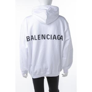 バレンシアガ BALENCIAGA トレーナー プルオーバーパーカー フーディ スウェット メンズ 556143 TAV37 ホワイト 2019年春夏新作|diffusion