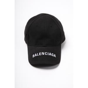 バレンシアガ BALENCIAGA キャップ ベースボールキャップ 帽子 531588 310B5 ブラック 2019年春夏新作|diffusion