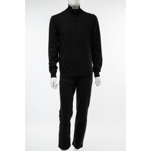 アルマーニ エンポリオアルマーニ Emporio Armani EA7 スーツ セットアップジャージ メンズ 3GPV53 PJ05Z ブラック|diffusion