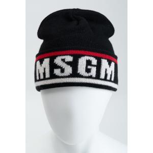 エムエスジーエム MSGM ニットキャップ ニット帽 2740ML10 195570 ブラック diffusion